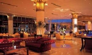 Lobbyen på Ritz Carlton