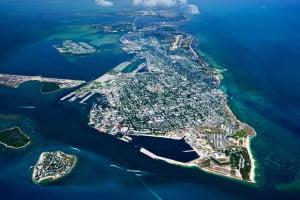 Key West fra luften