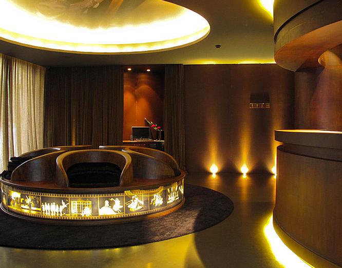 Lekker hotell lobby
